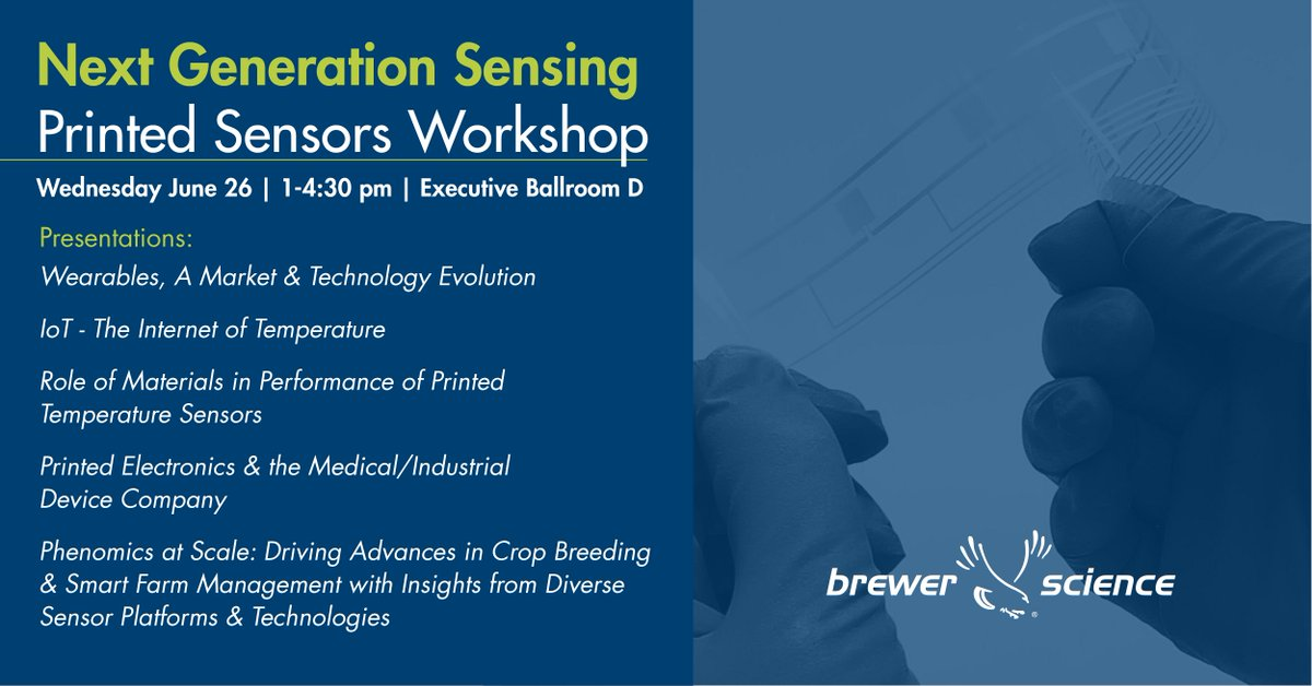 test Twitter Media - @SensorsExpo is almost here. There's still time to join our workshop 'Next Generation Sensing: Printed Sensors.' Opt-in during registration (https://t.co/bz0AePWfGA) or in the Attendee Resource Center (https://t.co/H4epreXh6r)  Meet the rest of our team in Booth 1422. #Sensors19 https://t.co/gna3SvsnMg