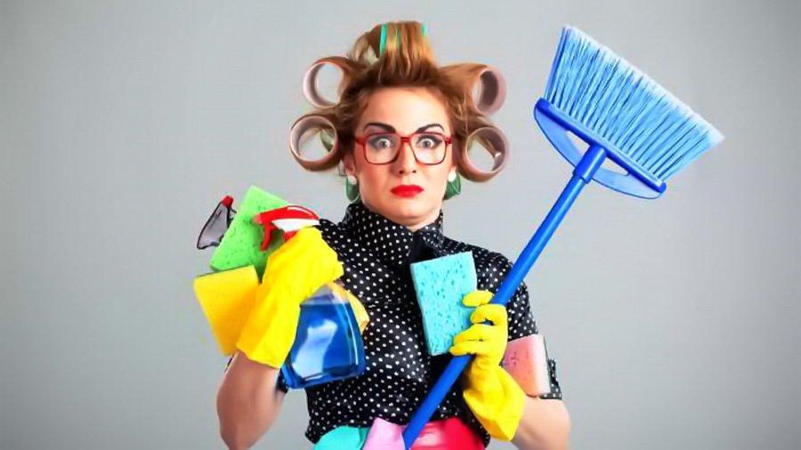 Смешные картинки уборщиц