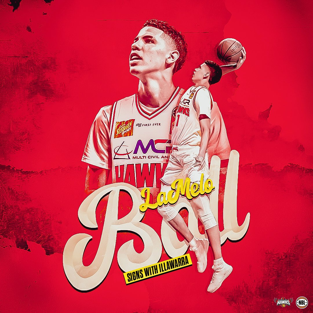 A whole new Ball game.  LaMelo Ball (@MELOD1P) will be joining the @illawarrahawks as another Next Star in #NBL20 ✨  More at http://bit.ly/2XTkXPP