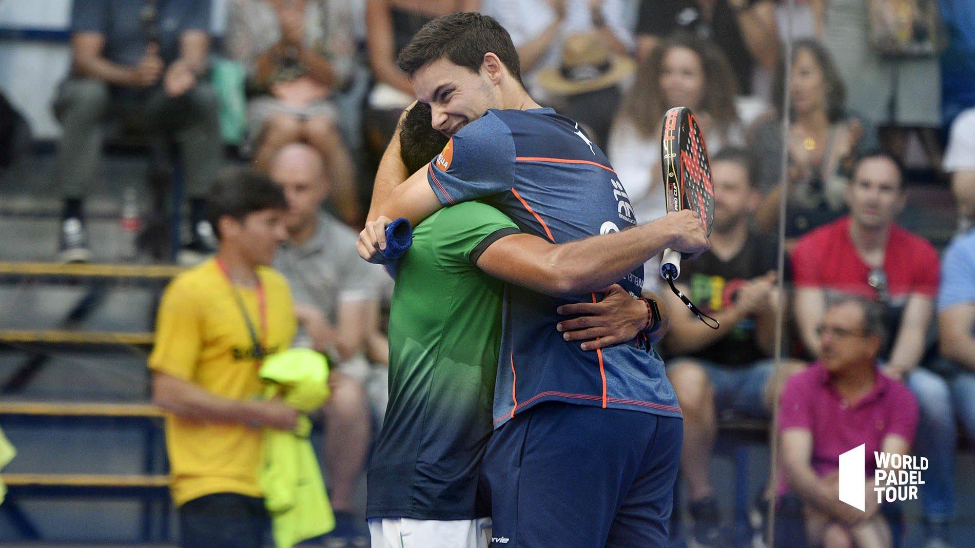 Andrés Britos y Iñigo Zaratiegui consiguen su primer pase a cuadro como pareja
