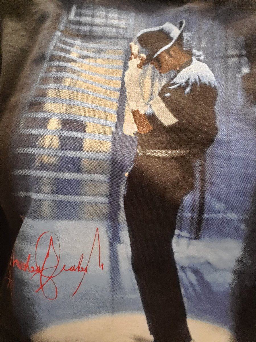 "TSA agent just told me ""love your shirt, I've always been a big fan of Michael! They need to leave him alone like his song says."" #MJFam #HonorMJ<br>http://pic.twitter.com/s7J4hZGmqA"