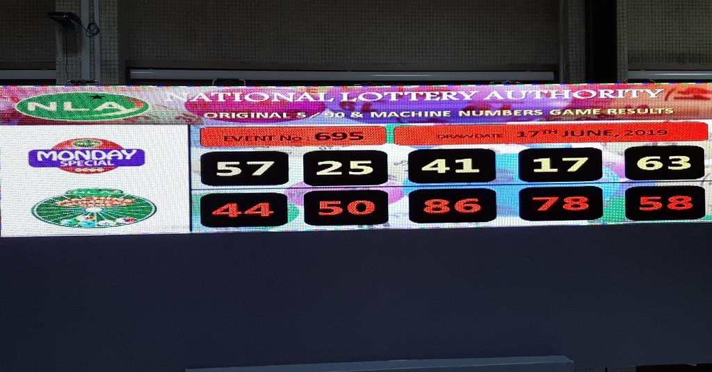 Monday  Special Results  #nla #lotto #lottery #today #money #gh #winners #cash #lmc #retailers #comeonboard #fortune #try #play #