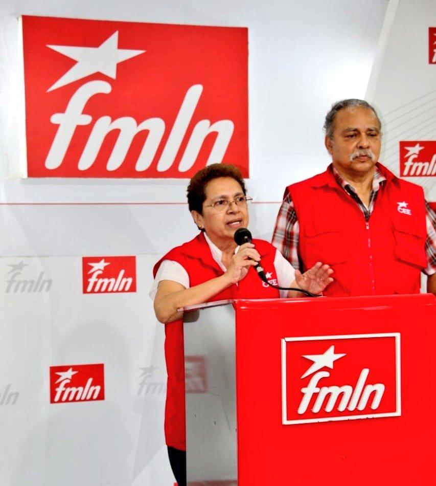 Se instala escrutinio final en internas del FMLN