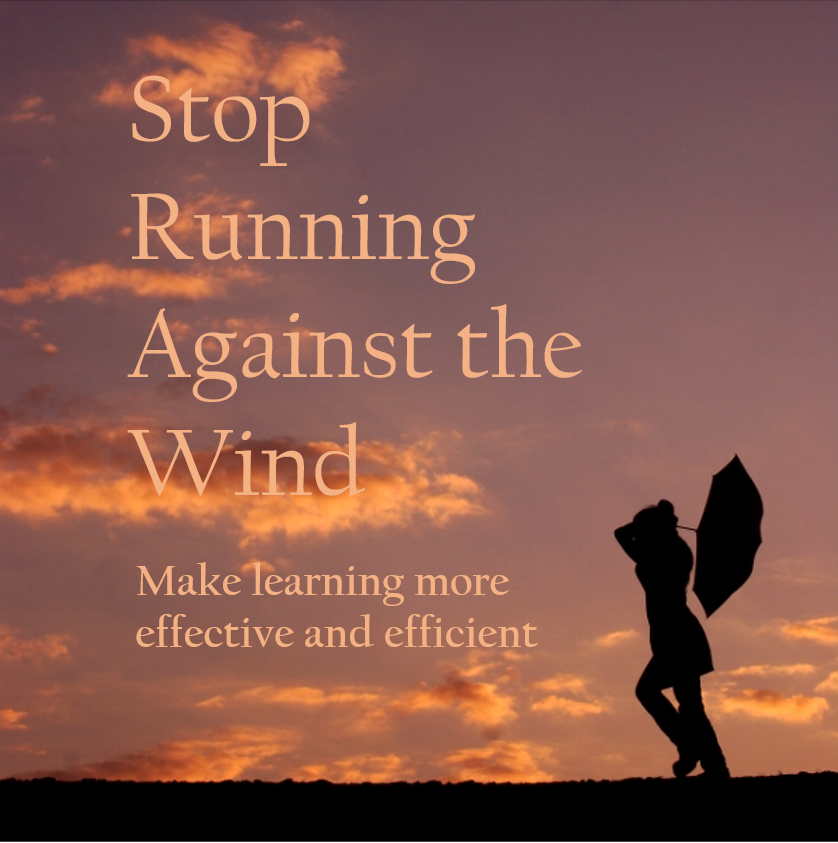 Why do we all keep making learning harder than it has to be?  Stop running against the wind and join us tomorrow for a grat webinar.  Visit https://bit.ly/2K3WPpO to register. #easierlearning #learningscience