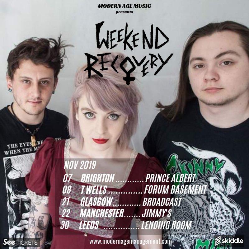 Weekend Recovery (@weekendrecmusic) | Twitter