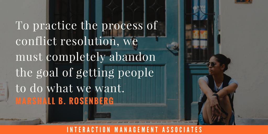 Let go of old ways of thinking for effective conflict engagement. http://bit.ly/2KJkLix #conflictresolution #conflictmanagement #adr #negotiation #negotiate #negotiator #mediator #mediation