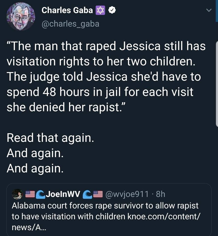 What the actual FVCK kind of world is this? Actually Alabama court, hope you find a brain and some common sense. Pieces of shiit...#WomensRightsAreHumanRights #HumanRights<br>http://pic.twitter.com/mxnhpIUMPI