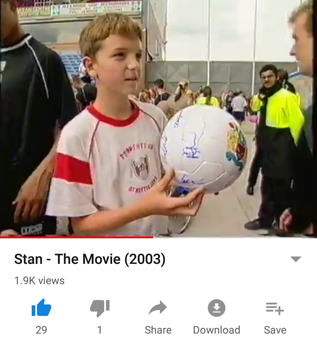 Whilst reminiscing of old times under Stan the man, couldn't help but notice this young chap getting his ball signed by the 2003 Burnley squad...He looks familiar  #twitterclarets #HesOneOfOurOwn<br>http://pic.twitter.com/uN3C5xAdsj
