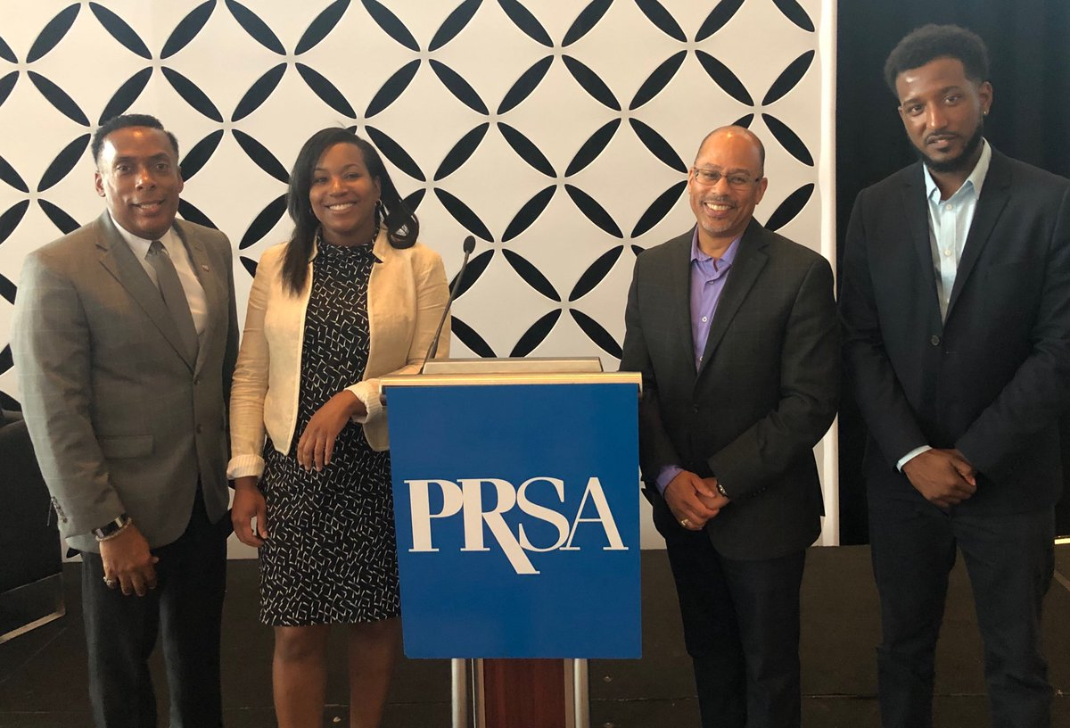 Proud to join @GregPHLCVB, @NyshaKing and @miltonhoweryIII @prsatravel #PRSATravel sharing insights on achieving diversity and inclusion in the PR travel and tourism industry @PRSAEducators @TUKleincollege