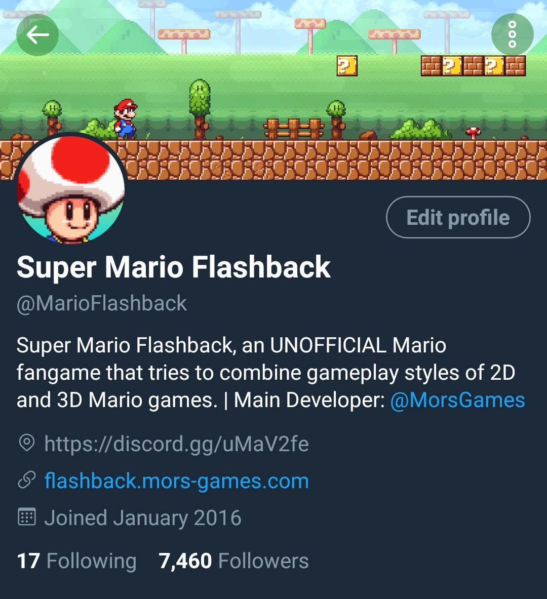 Super Mario Flashback (@MarioFlashback) | Twitter
