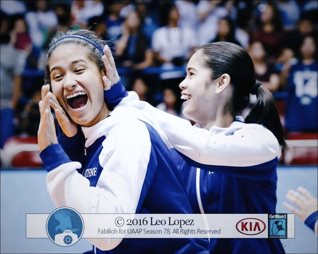 these makulit rookies will be the ones leading the ateneo lady eagles volleyball team to a back2back championship for season 82   who trusts them?   @deannawongst<br>http://pic.twitter.com/xSbtXMRWsr