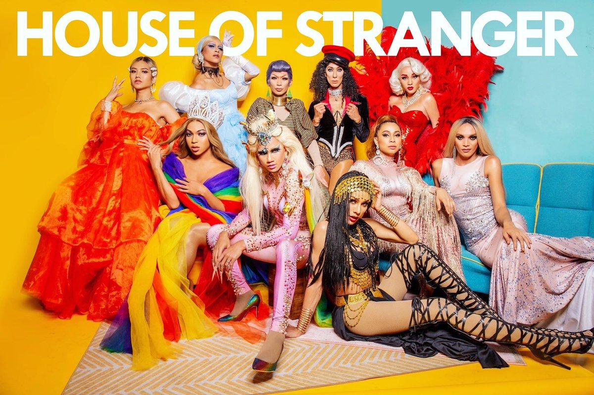 TOP ZYMONE(The Voice TH ss5)AMADIVAJAJA THE KWEEN (Drag Race TH ss1)CHEERILY STRANGERKANDY ZYANIDE(TOP3 Drag Race TH ss2) BTMANGELE ANANG(WINNER Drag Race TH ss2)M STRANGER FOX(Mother of the House&Drag Race TH ss2)ZE-PEEMEANNIE MINAJ(Drag Race TH ss1)GISELE <br>http://pic.twitter.com/dIkNL7TsYi