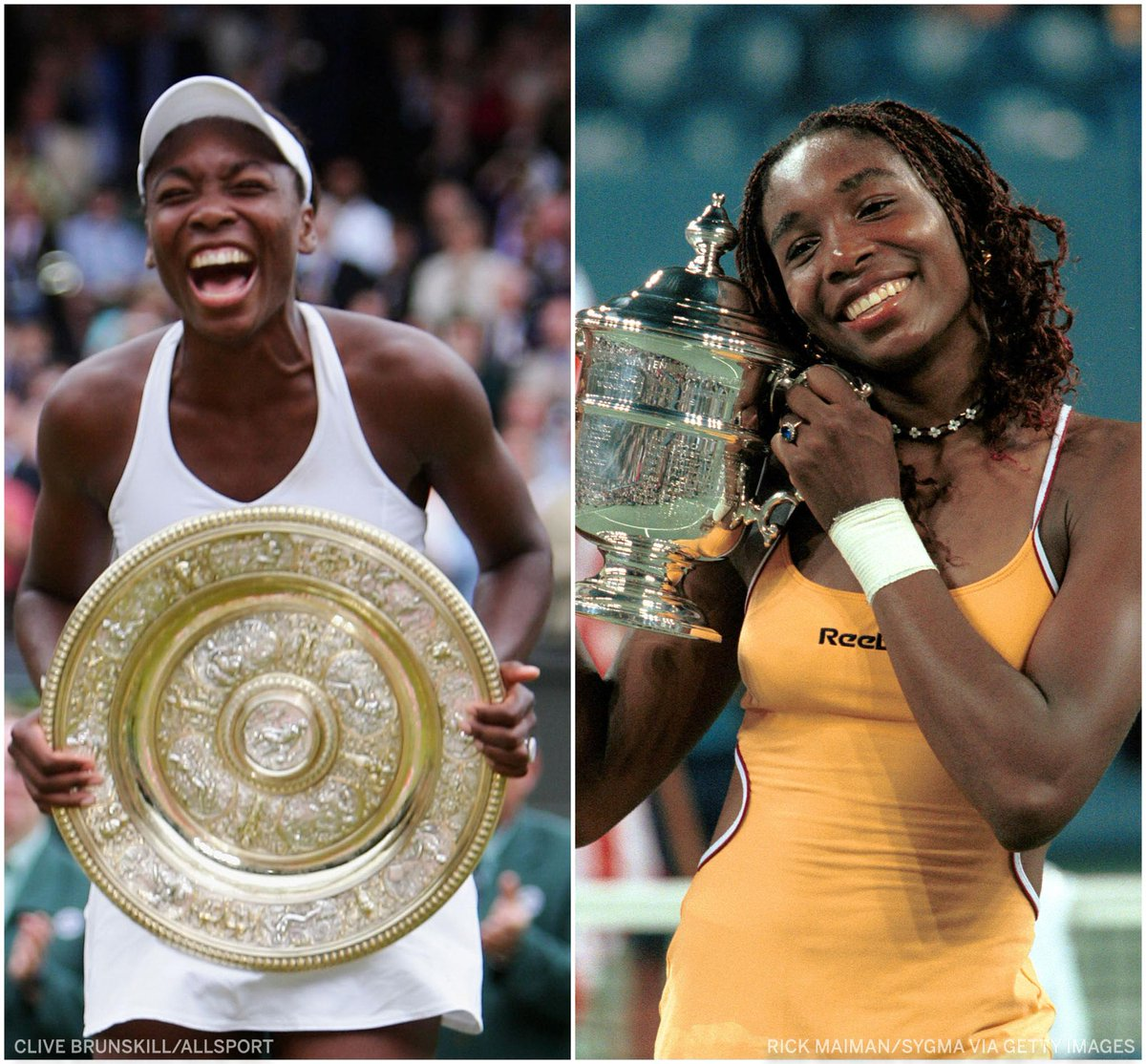 7 Grand Slam titles 4-time Olympic gold medalist 49 WTA singles titles  Happy birthday @Venuseswilliams, a legend in the tennis world 🎾