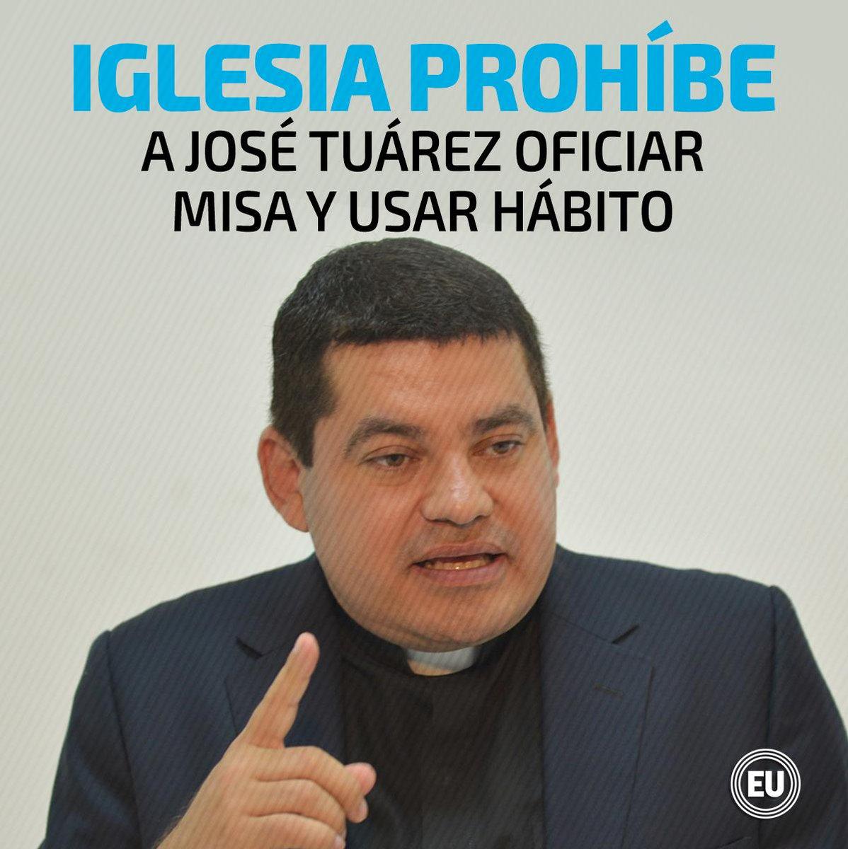 Iglesia Católica se distancia de José Tuárez, titular del CPCCS ► http://ow.ly/aD4850uGz2U