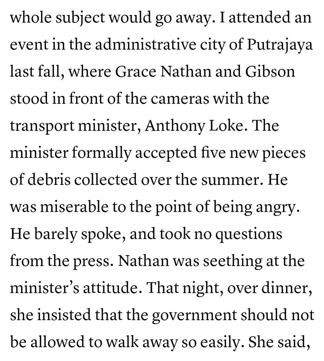 Is this the real Anthony Loke that we don't know of?