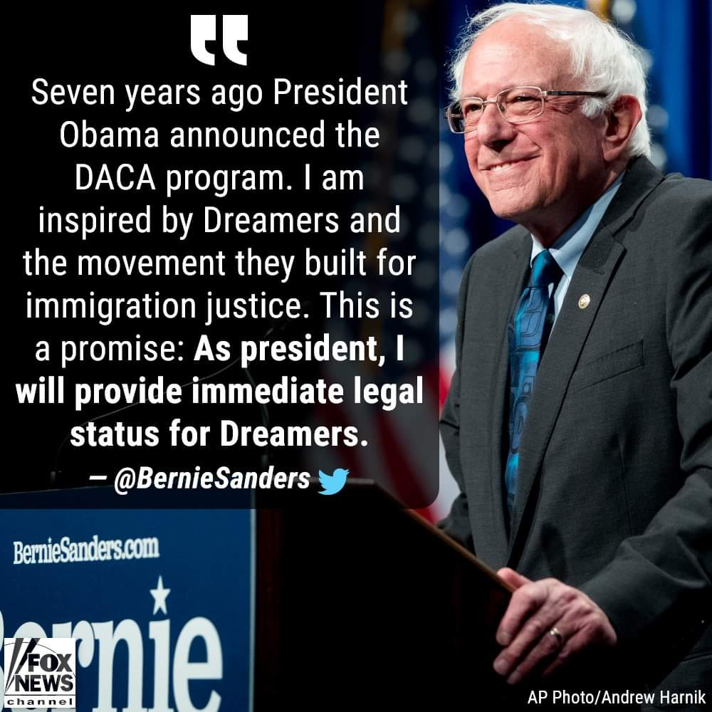"""7 years ago Obama signed DACA. An ILLEGAL executive order which allows illegals to stay in the US. All DACA recipients had time to become legal, but instead decided to live off the """"dreamer"""" welfare. Democrats care more about ILLEGAL ALIENS, than they do about AMERICAN CITIZENS."""