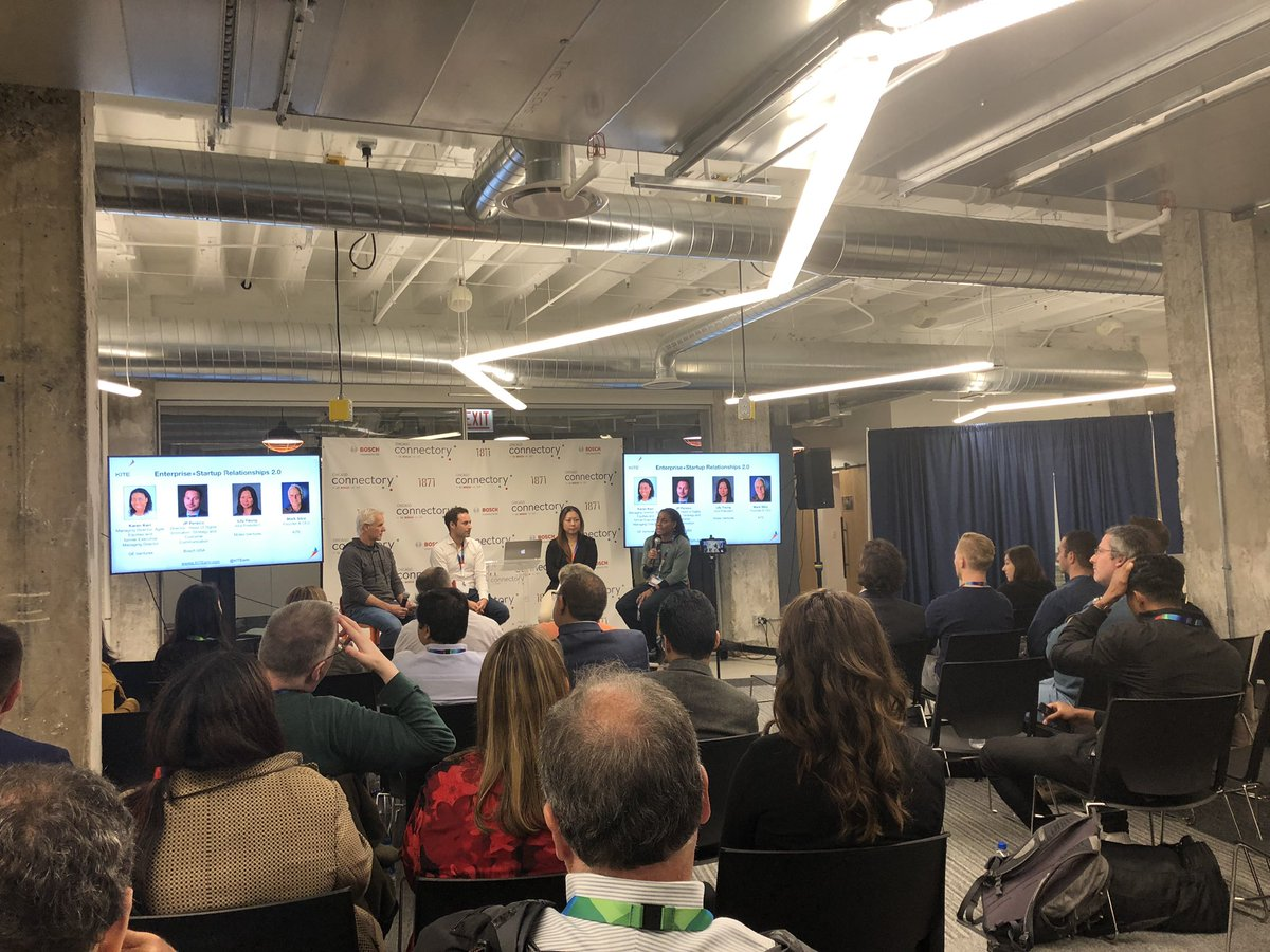 Awesome event with panel discussions around corporate and startup relationships. We are happy to further host events that connect the IoT innovation community  <br>http://pic.twitter.com/oRy0Qth6CZ