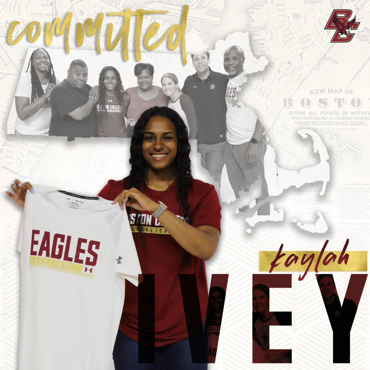 COMMITTED ! #WeAreBC🦅