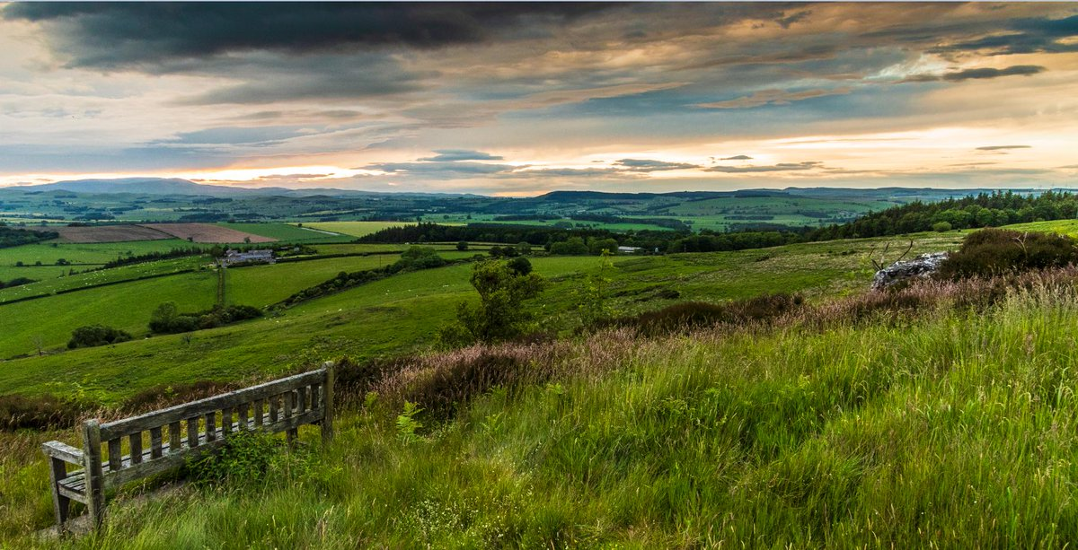 Corby Crags as the sun started to set. Lovely part of #Northumberland. Wonder if @XanderArmstrong recognises it? @VisitNland @VisitEngland @alnwickgazette @hexhamcourant @StormHour @BBCNEandCumbria @amberleybooks @GreatN_Land<br>http://pic.twitter.com/N1EZvHizZO