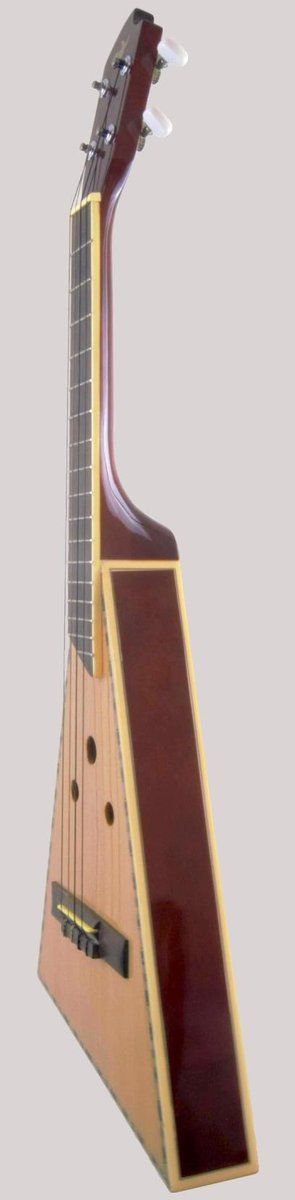 Jisheng Paddle triangle Jumbo Tenor Ukulele