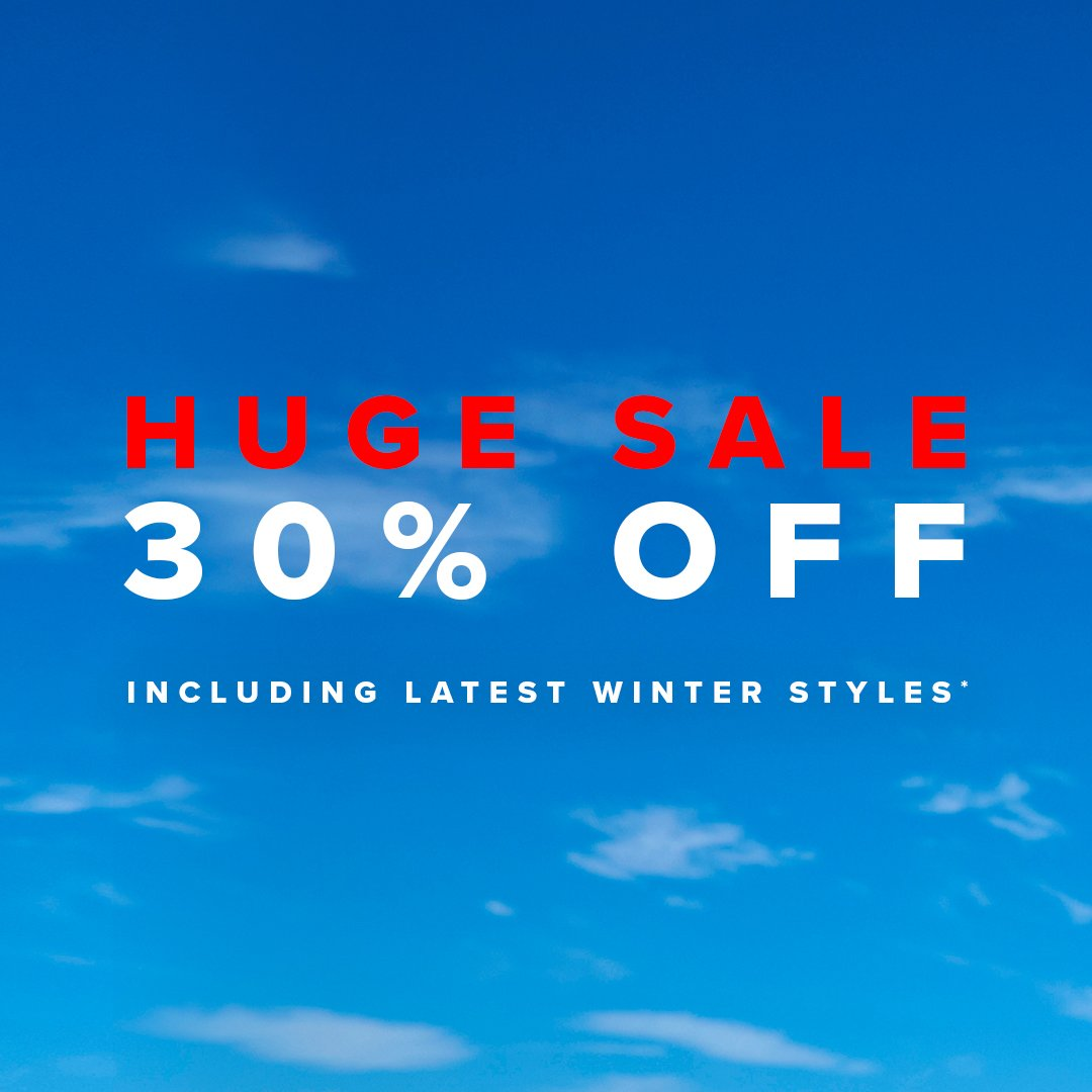 HUGE SALE: 30% OFF so many styles! Be quick - 3 days only You're going to want them all! 🛍  Shop Sale > https://t.co/XRnT0zhn78  *Ends 11:59PM AEST on 20.06.19. Selected styles and colours listed. Use code SAVE30 at checkout. Subject to terms and conditions https://t.co/OlpHIQNlYf