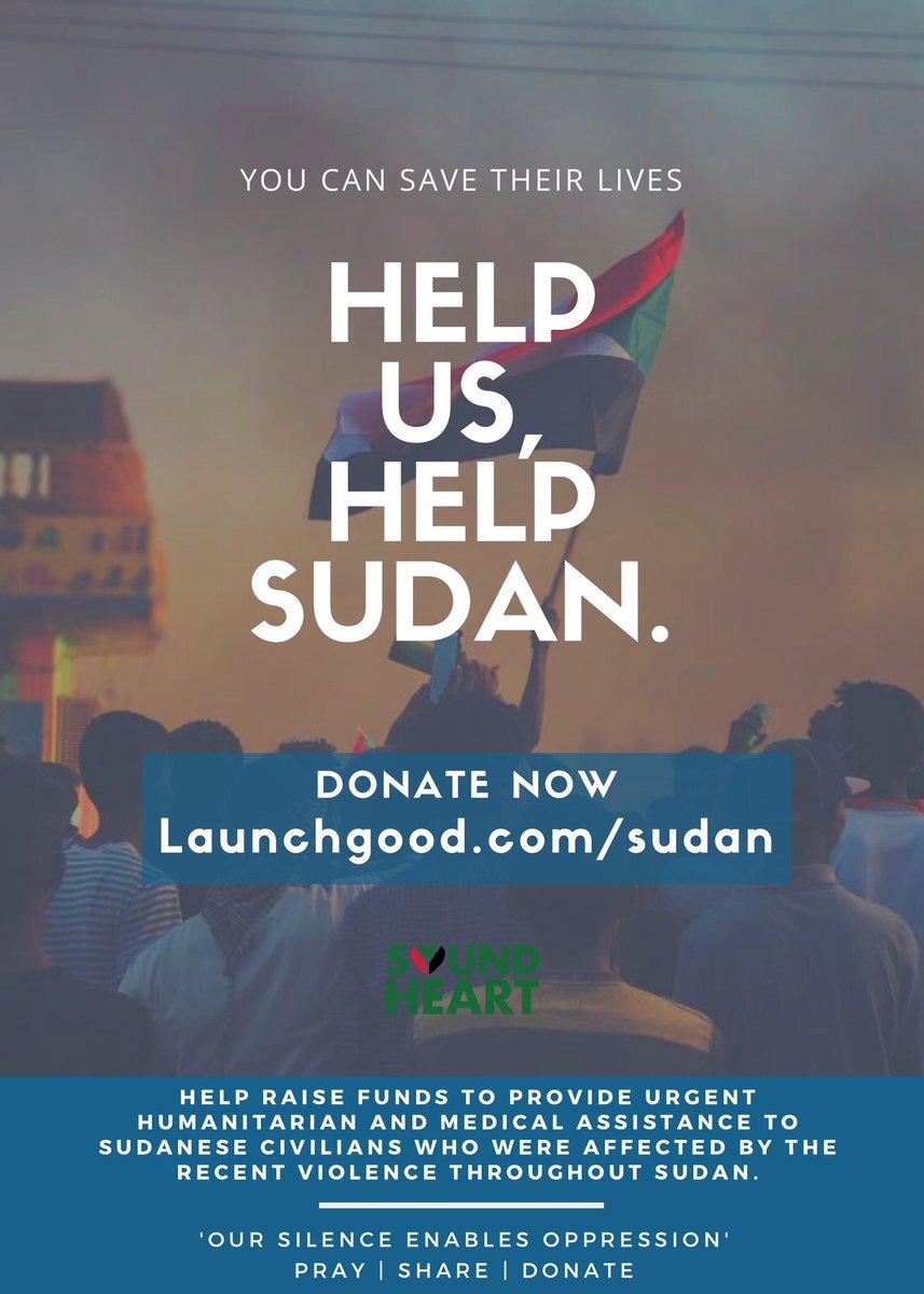 Donate to the cause!  #Sudan #SudanProtests  #SudanMassacare #IAmTheSudanRevolution #SudanRevolts #Minnespolis #Minnesota #MN<br>http://pic.twitter.com/wcbxzxDVEM