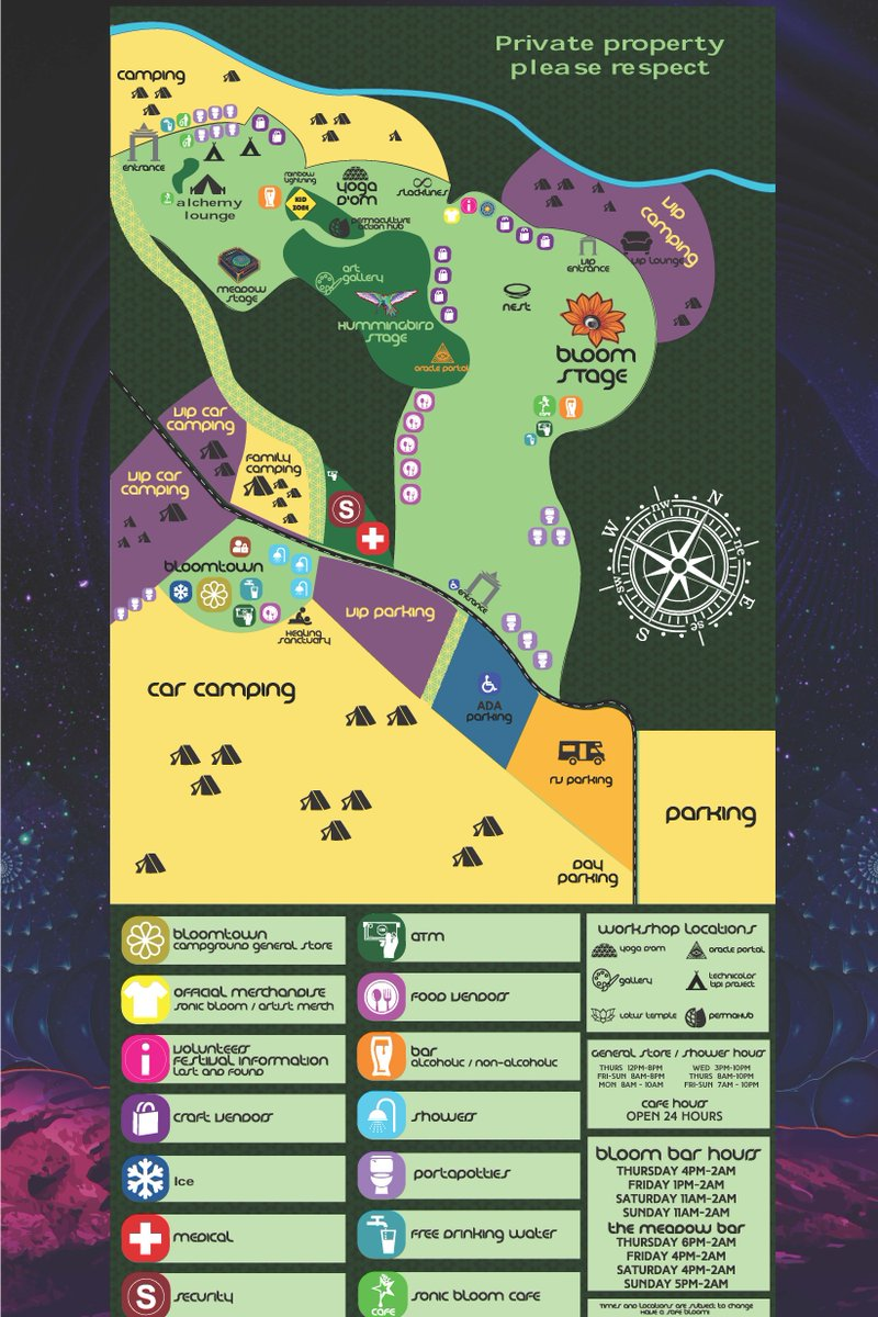 Site Map is up! >>> https://sonicbloomfestival.com/festival-map/   Last call Tier-4 TIX - prices increase at midnight TONIGHT!  #SONICBLOOM