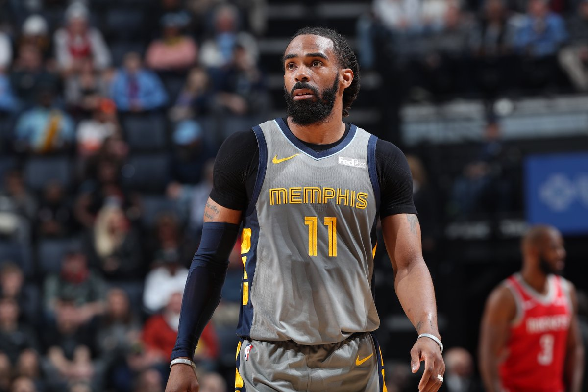 """Jazz are a """"front runner"""" to acquire Mike Conley from Grizzlies if traded, per @ShamsCharania<br>http://pic.twitter.com/zKLO0WFEZZ"""