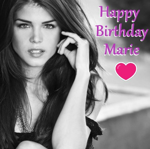 Happy Birthday to the beautiful and incredibly talented Marie Avgeropoulos