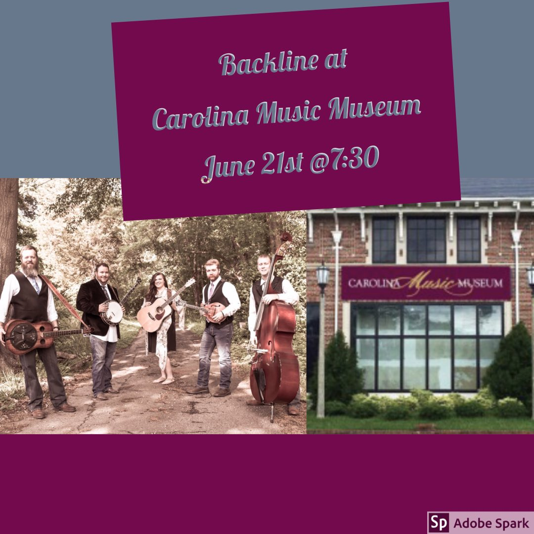 We hope our fans near Greenville will come out Friday night to the Carolina Music Museum! #bluegrass #yeahthatgreenville #bluegrassmusic #greenvillesc #carolinamusicmuseum<br>http://pic.twitter.com/QubooZ7MFW