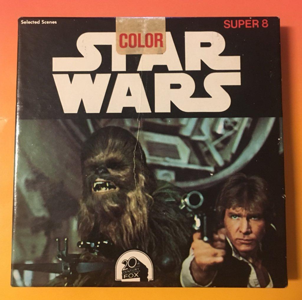 #STARWARS Super 8  F48 Color 8 mm Film Reel    #KenFilms    1977