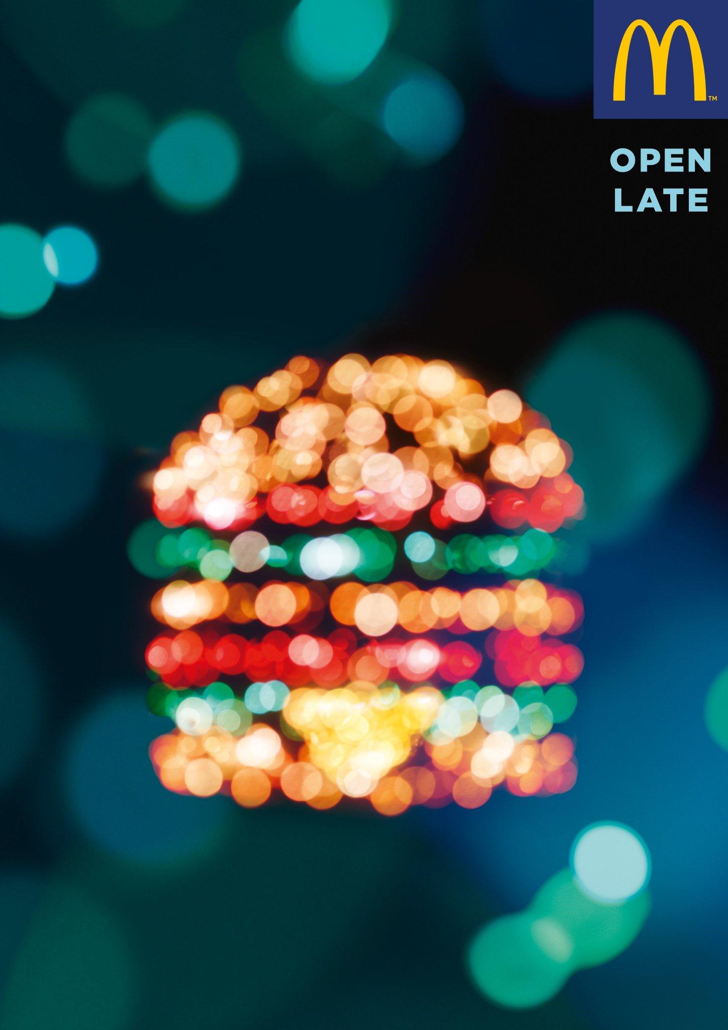 「深夜営業」をここまで芸術的に表現できるのは、フランスのマクドナルドだけだと思う。