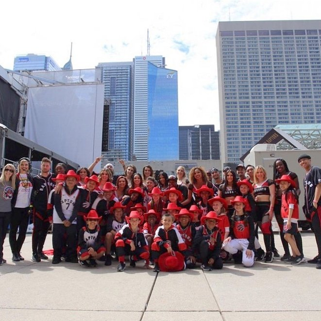 We were beyond thrilled to be apart of today! It was obvisouly one for the books and well never forget the franchise history Toronto made this season! 🏆 @raptors @northsidecrewto #torontoraptors #nbafinals #nbachampions #championshipparade #toronto #raptors #WeTheNorth