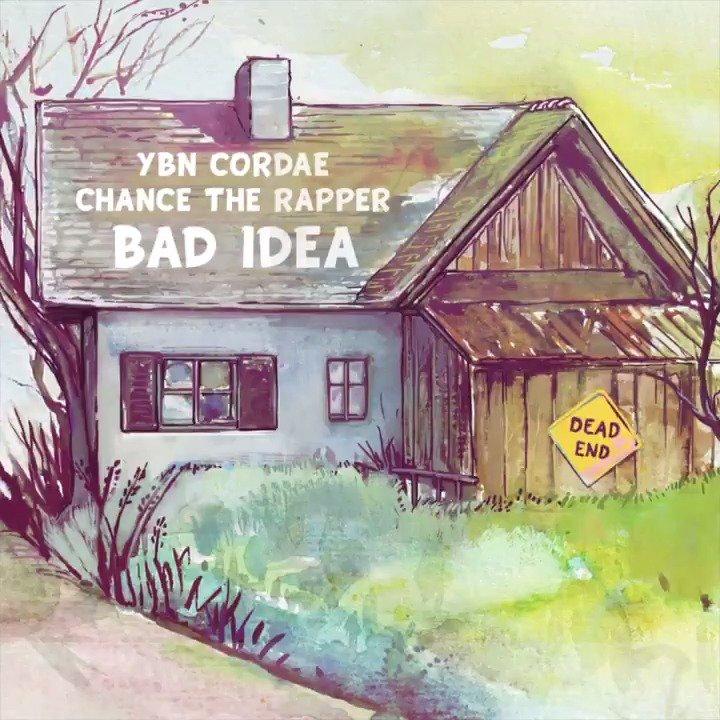 The collab we needed 🙏@YbnCordae x @chancetherapper. #BadIdea. Listen now 👉http://spoti.fi/badidea
