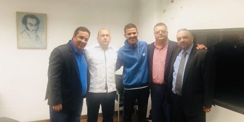DICTADURA de @NicolasMaduro libera al diputado @gilbercaro a petición del Grupo de Amistad Venezuela-Estados Unidos #17Jun