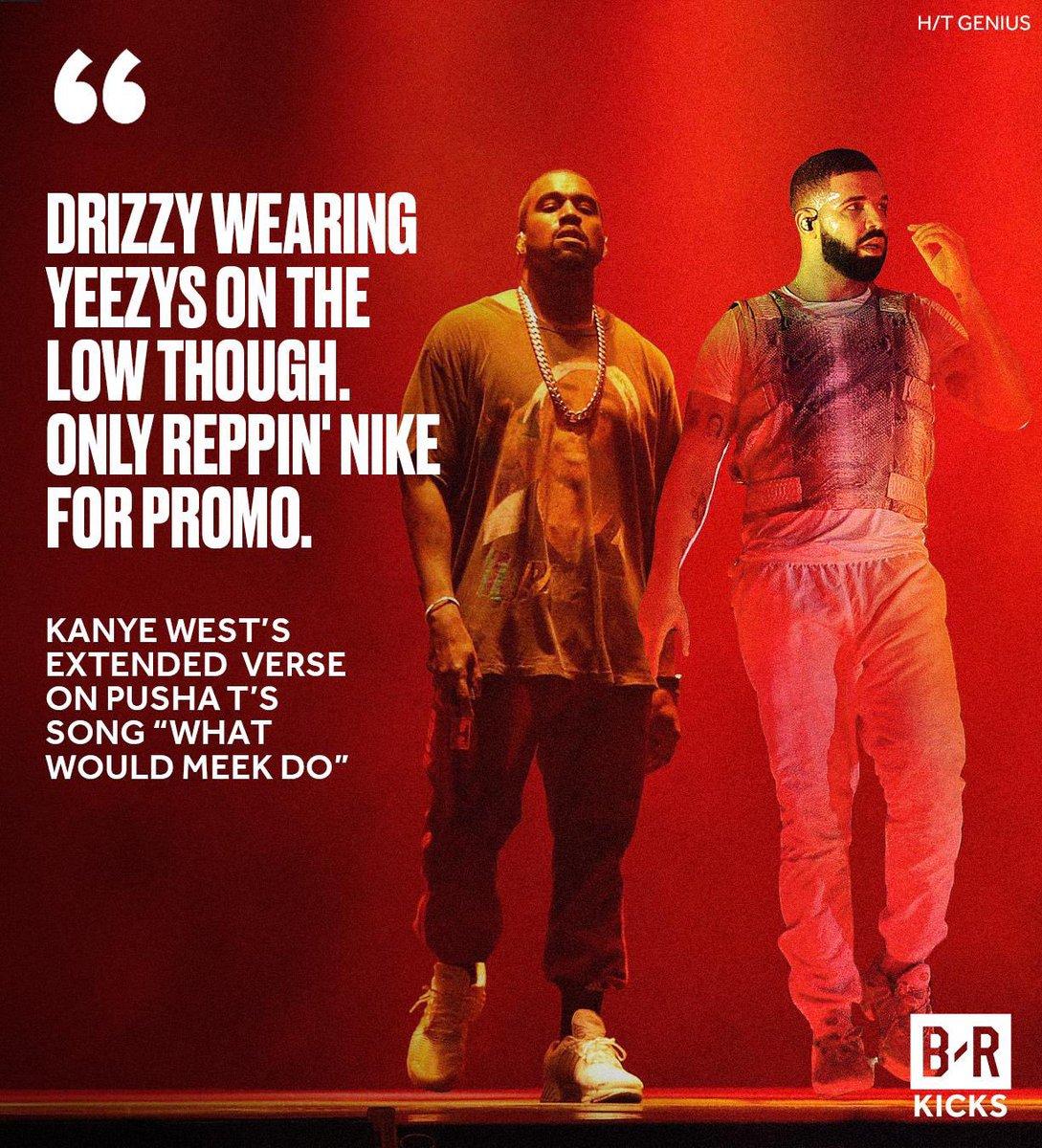 Kanye Caught Drake in Yeezys 👀