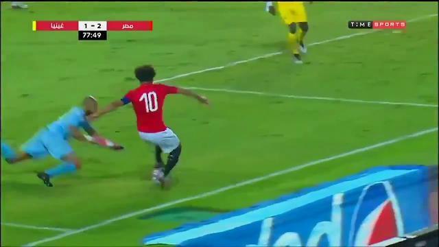 Egitto, grande giocata di Salah sulla fascia: con ...