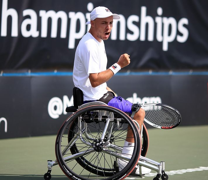 After their progress to the quad final and the women's semis at the Open de France Super Series there's great news for Andy Lapthorne and Jordanne Whiley in this week's world rankings.  @lapstar11 ⬆️ to world No.3  @jordannejoyce92 ⬆️ to world No.8  #BackTheBrits 🇬🇧