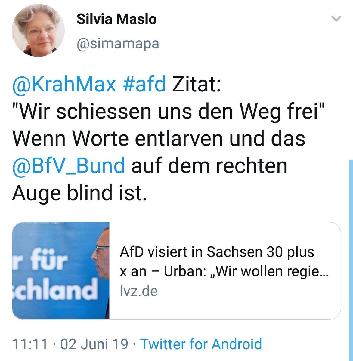 Dennis Müller S Tweet Die Afd Schießt Den Weg Frei