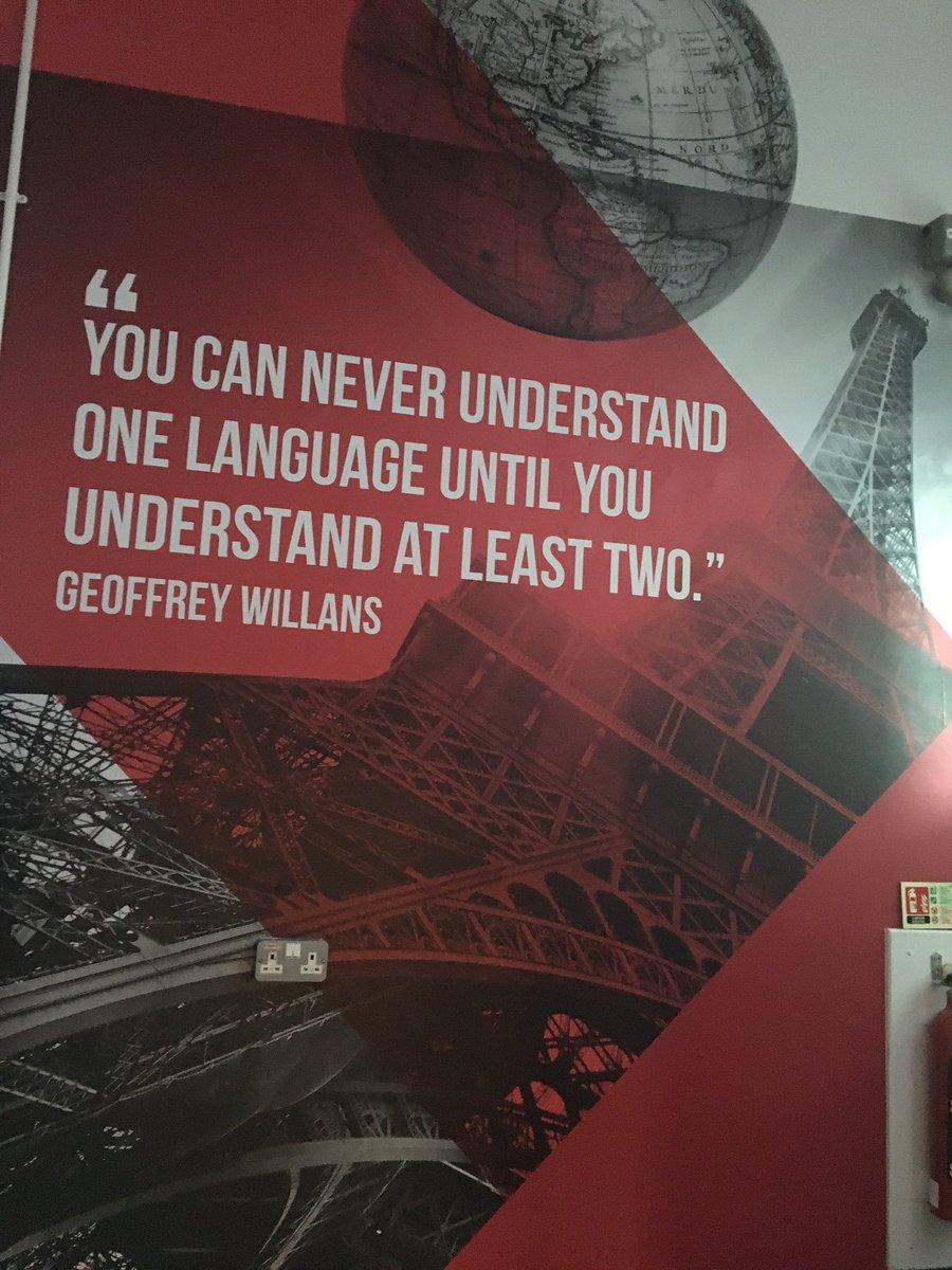 Loving the new inspirational displays leading up to MFL @SaxmundhamFS #InspirationalQuotes #learnalanguage #MFLTwitterati #skillforlife<br>http://pic.twitter.com/NzUtRWIQc0