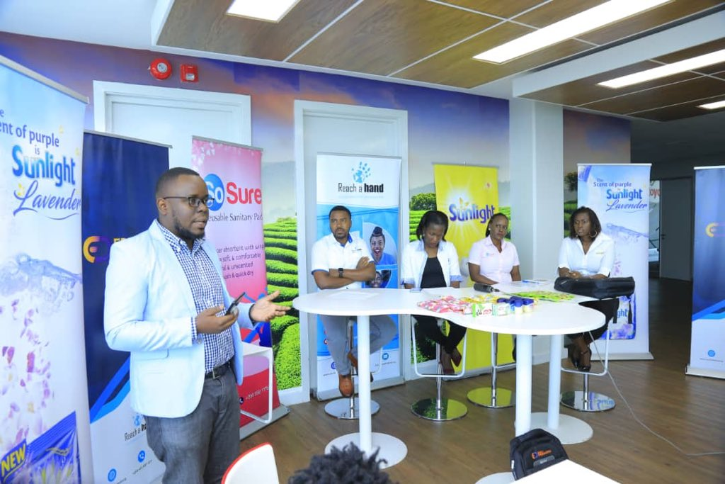 """@reachahand, Unilever (through their flagship product Sunlight) and AFRIpads (through their flagship product So Sure) have today launched a youth empowerment project dubbed """"The Edupreneurs project"""".   #EdupreneursUG #NBSUpdates"""