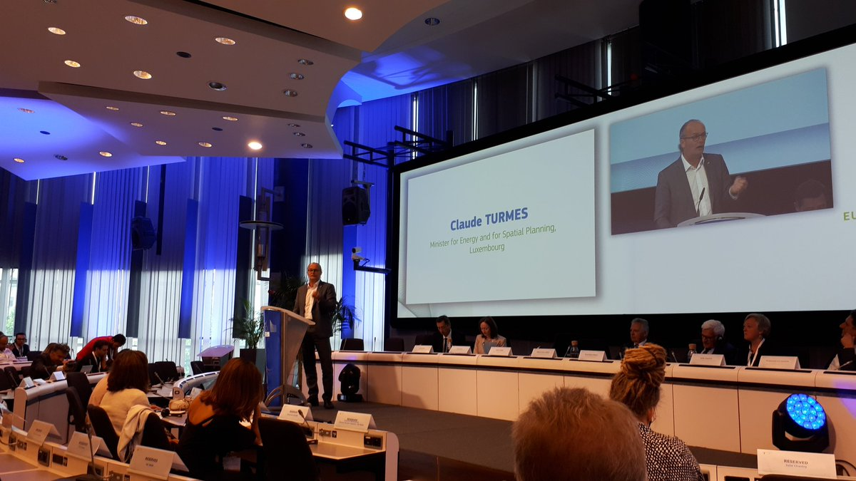 Next EU budget needs a massive building #renovation programme with centres of excellence inspired by @EnergiesprongEU says @ClaudeTurmes #EUSEW19<br>http://pic.twitter.com/k253M7L7ZD