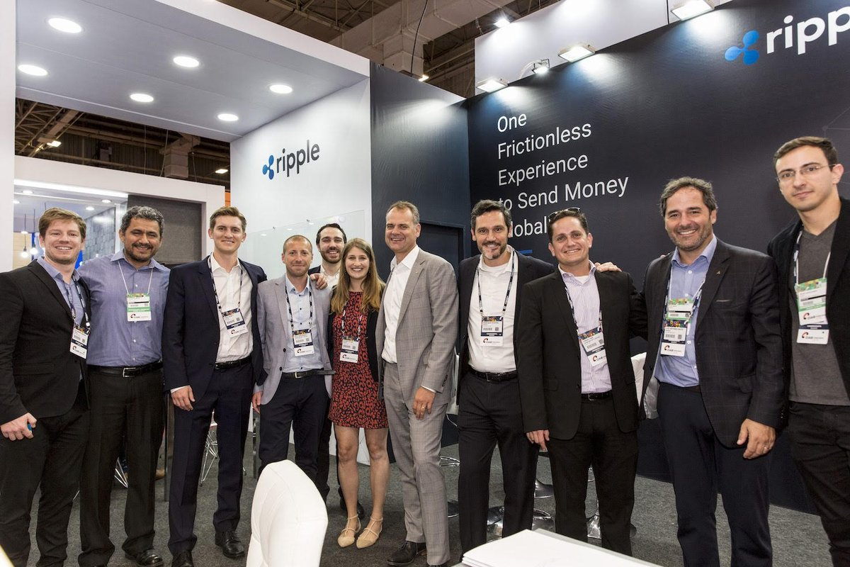 We had a great time last week at @CIABFEBRABAN in Brazil! Check out some of the shots from @Ripple #happyhour - pun intended  <br>http://pic.twitter.com/reF7MiFRtg