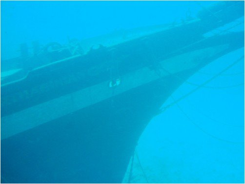 This sunken fishing boat rests 130 feet down in the waters off #Lahaina, Maui. <br>http://pic.twitter.com/chmqL9F7sw