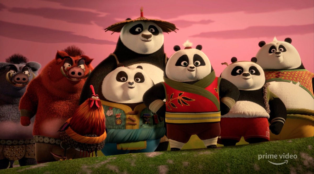 Meet the next generation of Kung Fu masters. Watch all-new episodes of #KungFuPanda: The Paws of Destiny coming July 5, only on @PrimeVideo.