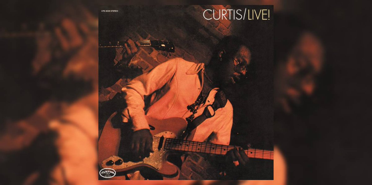 Our list of the 50 GREATEST LIVE ALBUMS OF ALL TIME includes #CurtisMayfield's 'Curtis/Live!' (1971) | Read more, listen to the album + view the complete list here:  https:// bit.ly/2kbPoP8    <br>http://pic.twitter.com/1SiqCQ3MR0