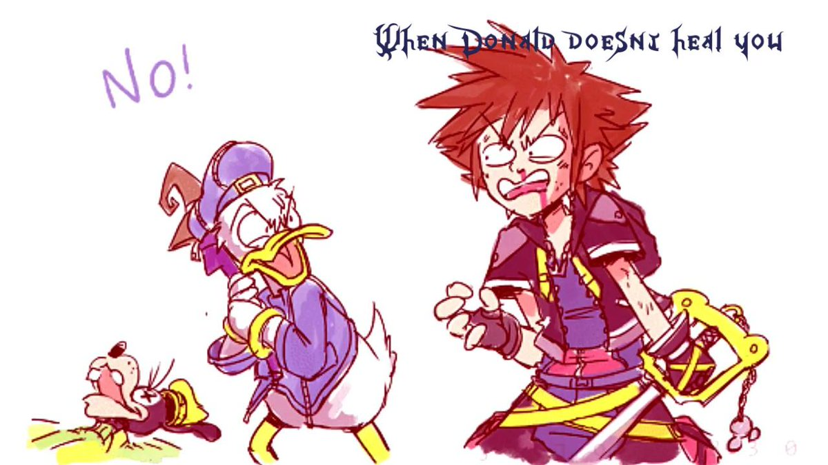 basically every KH game <br>http://pic.twitter.com/yUehP1n4pD