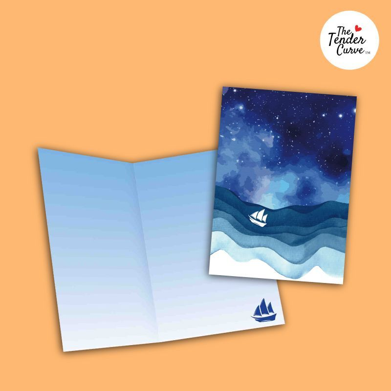 Discover our unique collection of #nauticalgifts for your coastal-loving, #sailor, nautical enthusiasts, family & friends. Shop here: http://bit.ly/2s5YDEm  #thetendercurve #happymemorables #greetingcardsonline #beachlover #sealife  #wanderlust #maritime #bonvoyage #anchor