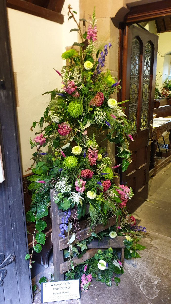 "Also in Ashford in the Water this week, the village Flower Festival on the theme ""Out & About in the Peak District"". (1 of 2) #flowerfestival #PeakDistrict #Derbyshire #NationalPark<br>http://pic.twitter.com/A2dSmHDh0K"