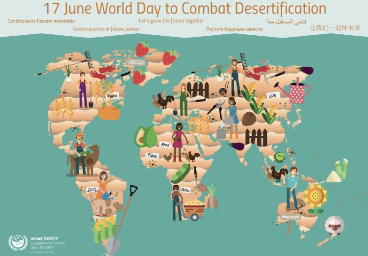 RT @WWF_DG In the picture below one thing is missing... #nature.  On World Day to Combat Desertification #2019WDCD, we should highlight the role of #forests #wetlands #grasslands and their essential role in preventing #desertification. @UNCCD @UNEnvironment  @UNBiodiversity